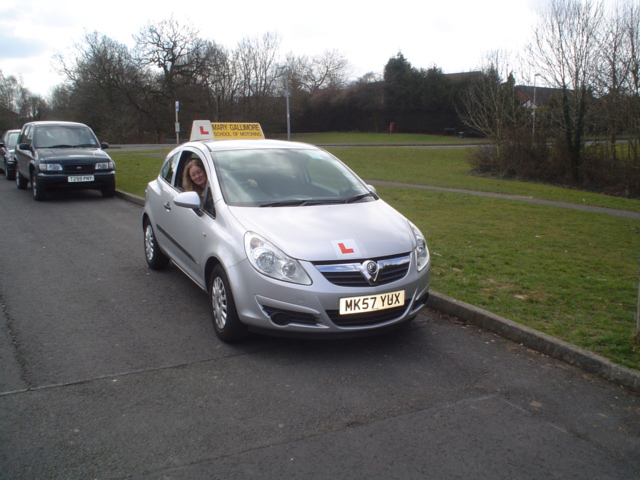 female driving instructor crewe